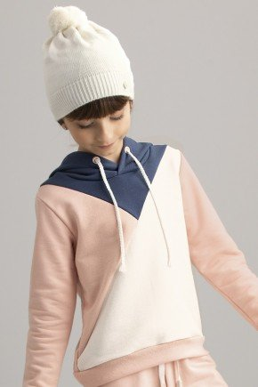 8027 casaco rosa
